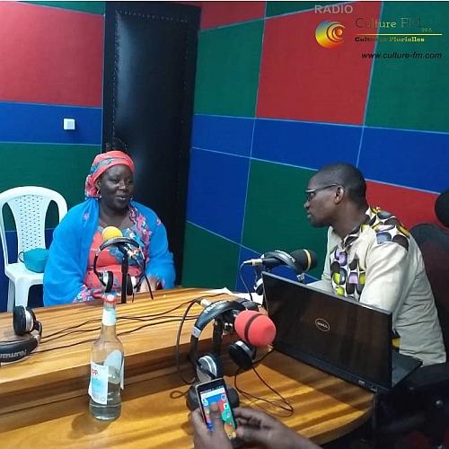 Le 1er Prix Simone Veil reçu chez Culture FM à Eséka