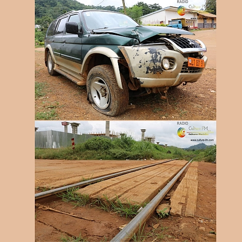 Insécurité routière: Un train percute une voiture à Eséka