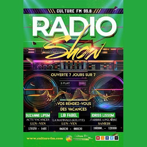 Vos Rendez-vous avec Culture FM: Radio Show (Vacances scolaires 2019)