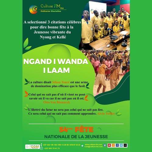 Bonne Fête Nationale de la Jeunesse 2020 !