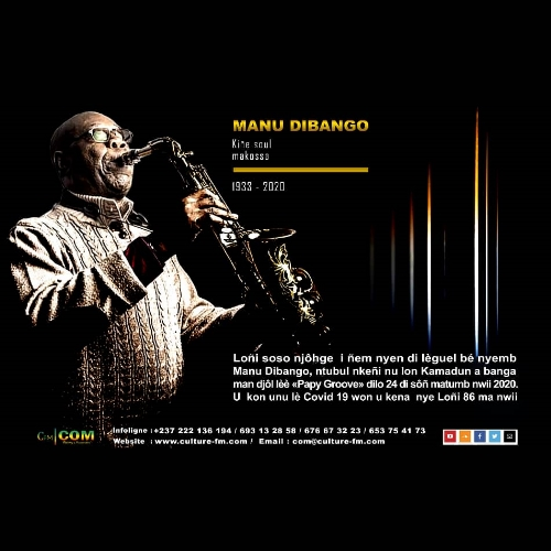 Manu Dibango: hommage en langue Bassa
