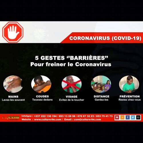 Le COVID-19 est une réalité: 5 gestes «barrières».