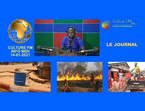 """Journal Culture FM Info Midi"" – 14/01/2021"